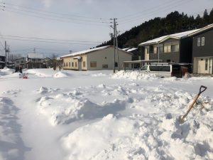 加茂市の分譲地です。ご覧のような状態です。流石にいい歳なのでダイブして人形とかしませんよ。