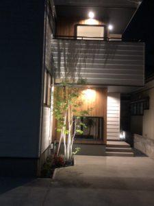 新岡山の分譲モデル住宅です。アオタモさんいい仕事してますね。